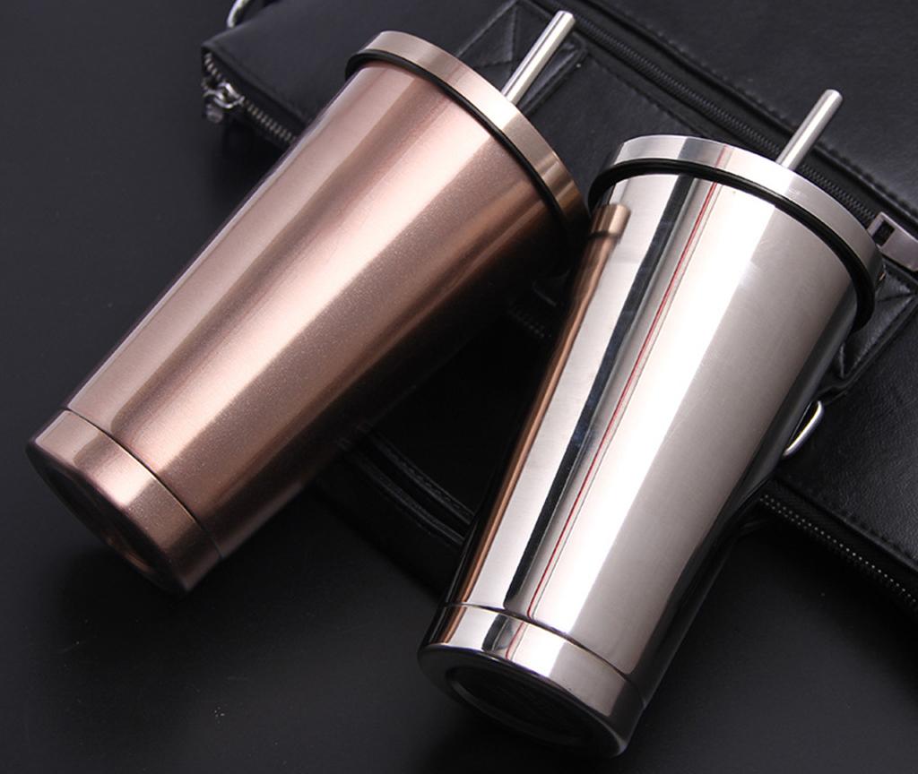 Фото стальных стаканов