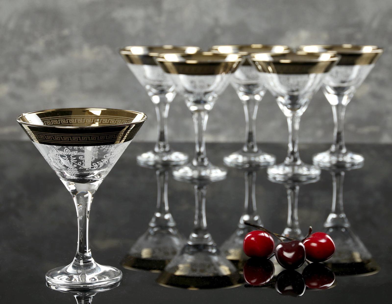 Фото бокалов для мартини
