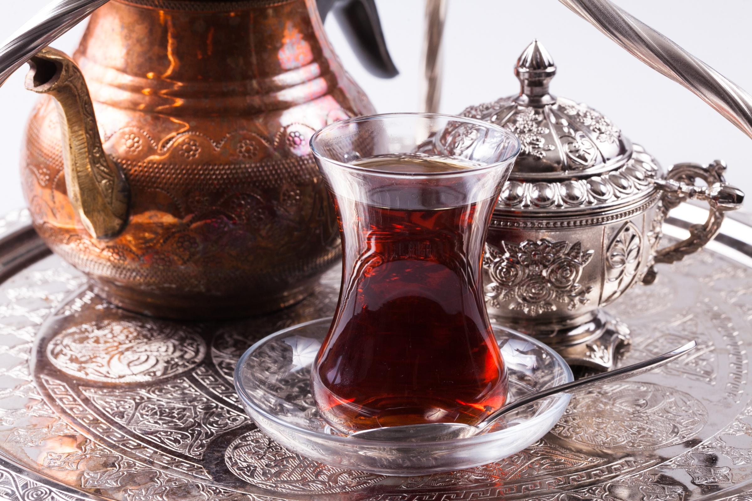 Чай в турецком стакане