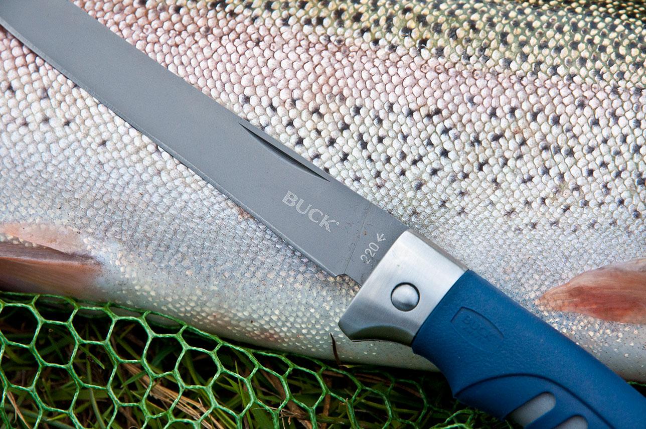 Филейный рыбацкий нож