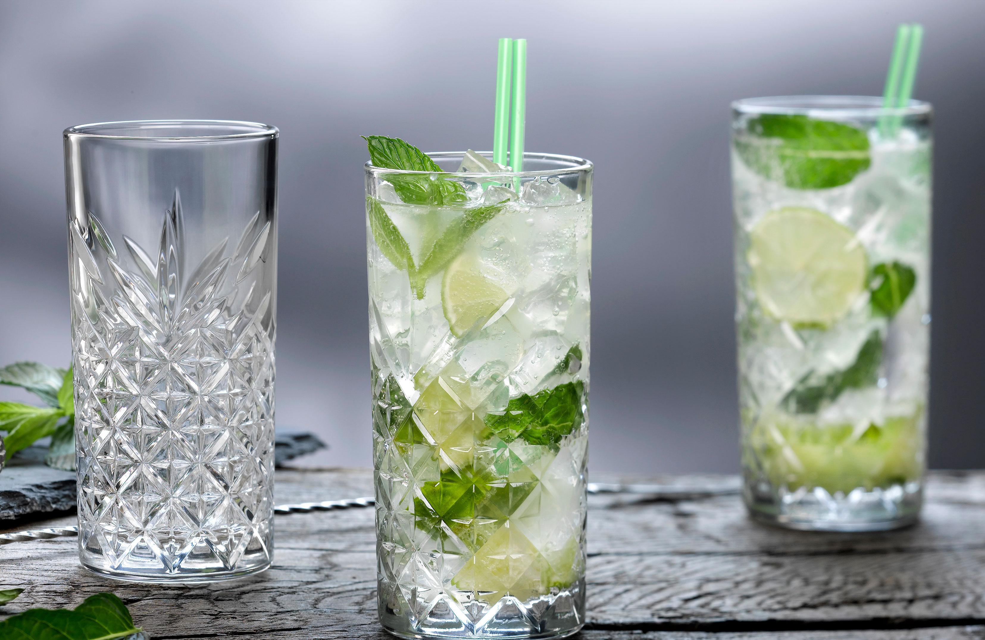 Хайбол стаканы с мохито