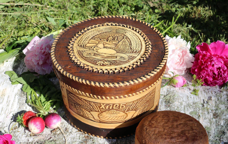 Фото круглой хлебницы
