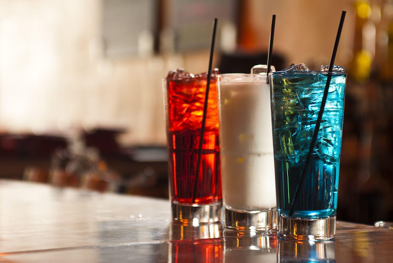 Фото коктейлей в хайболе