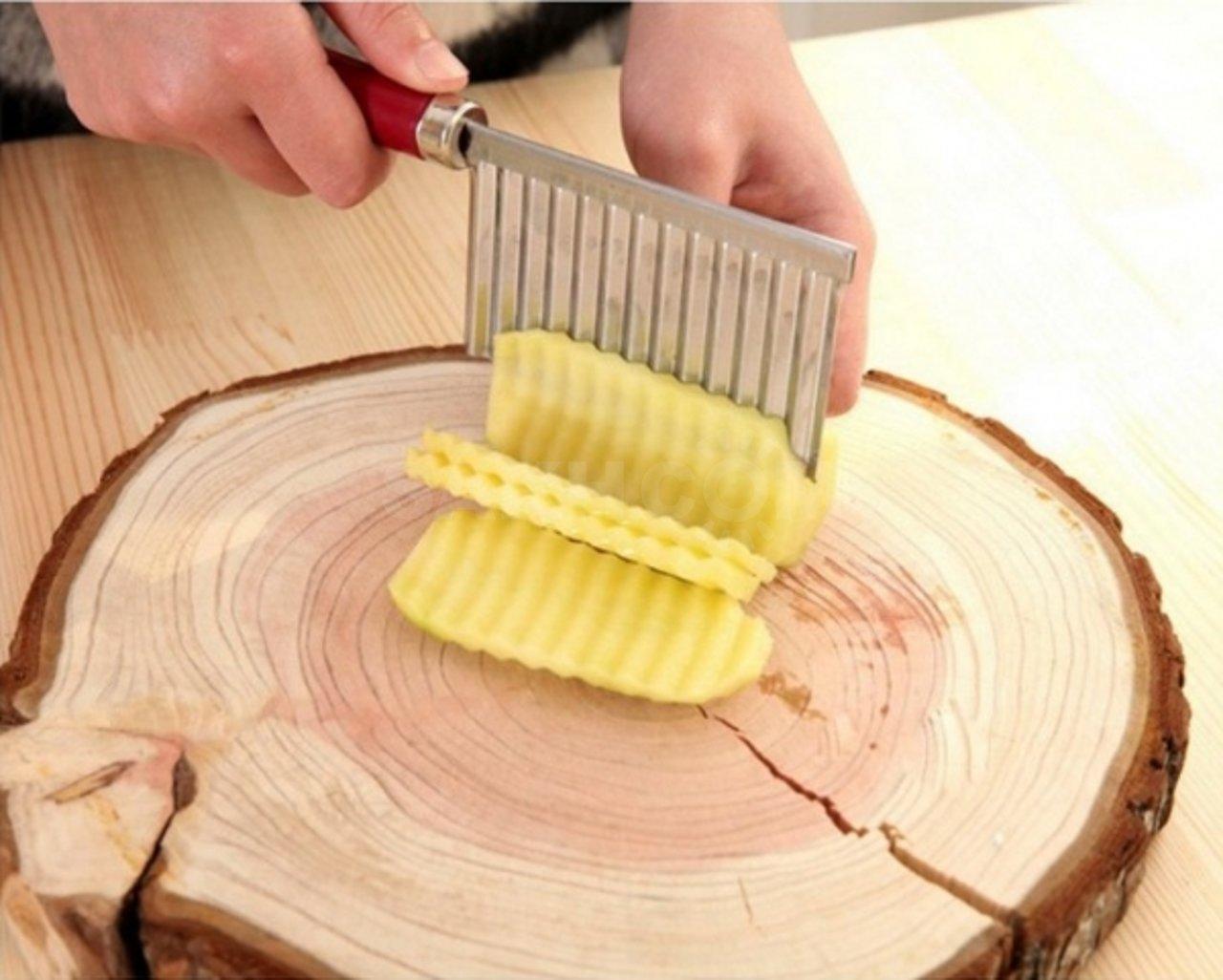 Нож для нарезки волнами