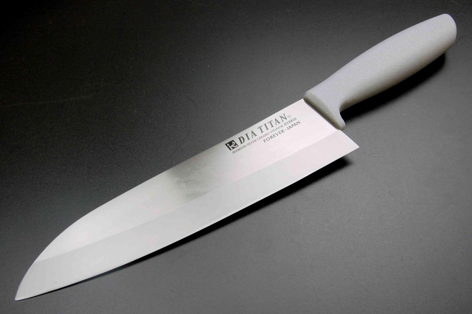 Шеф нож из титана