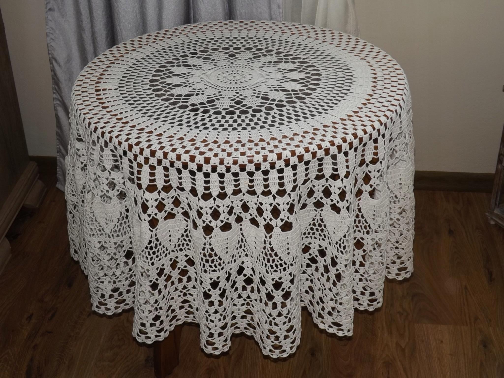 Скатерть плетеная
