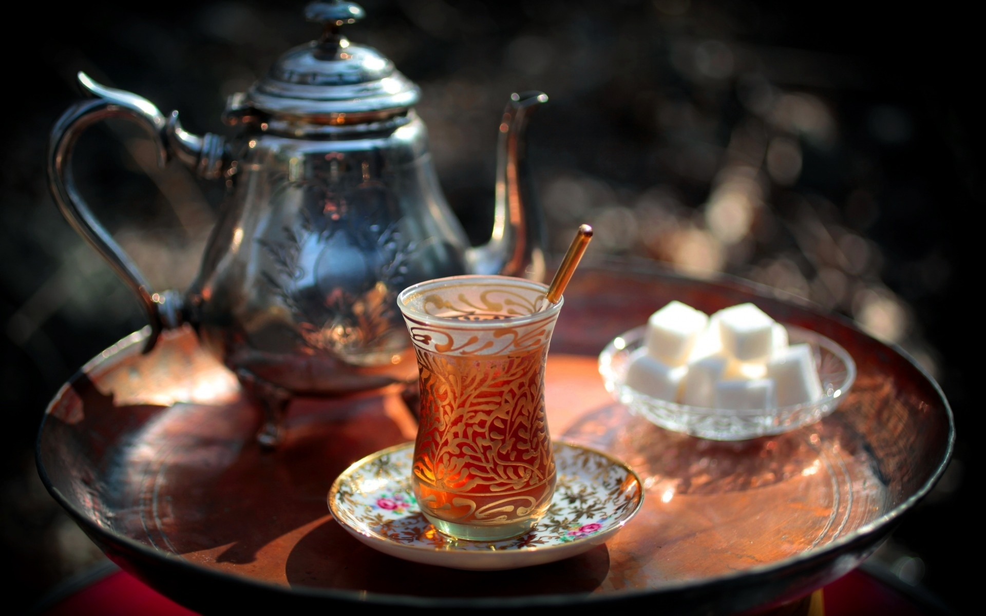 Турецкий стакан с узорами