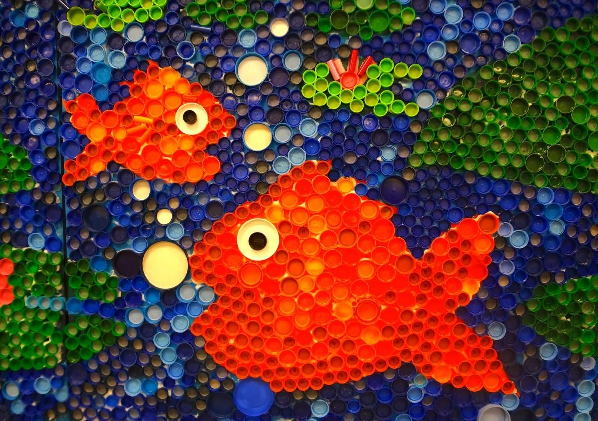 Панно аквариум